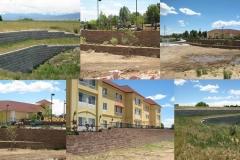 Retaining Walls / University Construction